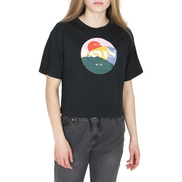 Levis Girls Tee Black