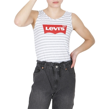 Levis Girls Tank Bodysuit Grey Heather Stripe