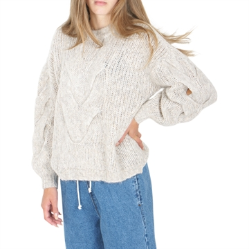Designers Remix Antico Cable Sweater 16362 Ecru