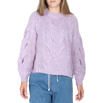Designers Remix Antico Cable Sweater 16362 Lavender