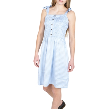 Designers Remix Strap Dress Emme 17047 Blue/Cream Stripes