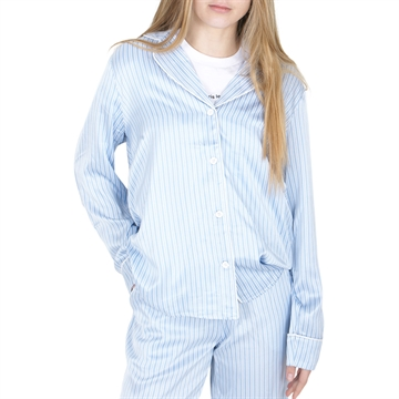 Designers Remix Shirt Emme 16586 Blue/Cream Stripes