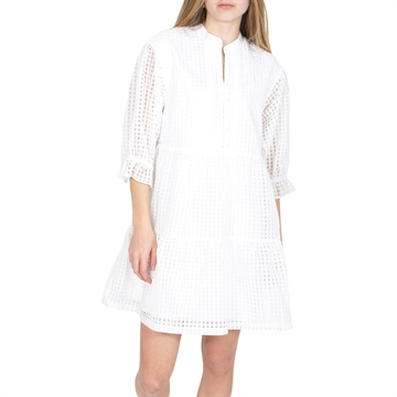 Designers Remix Ruffle Dress Molise 16729 Cream