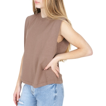 Designers Remix Muscle Tee Mandy 17037 Taupe
