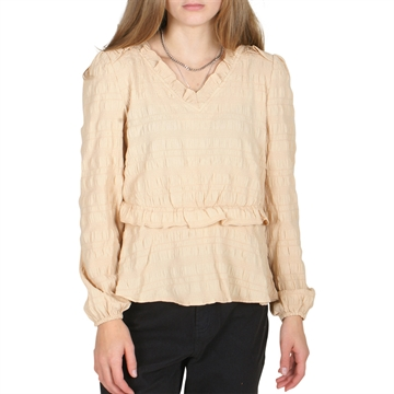 On Me Blouse 19-0517 Beige