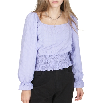 On Me Blouse 19-0516 Purple
