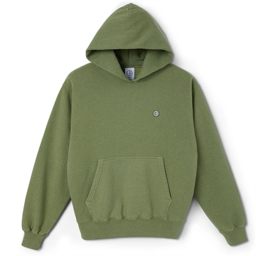 Polar Skate Co Hoodie Patch Heather Green