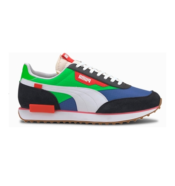 Puma Future Rider Play On Flou Green/Dazzling Blue