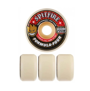 Spitfire Wheels FORMULA FOUR CONICAL 101 DURO