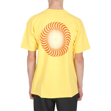 Spitfire T-shirt s/s Yellow/Red