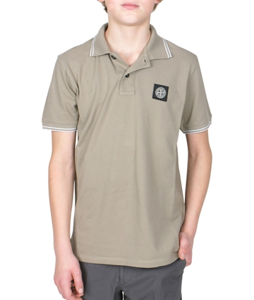 Stone Island Polo Shirt Dove Grey 701621348