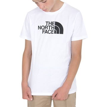 The North Face Easy Tee White/Black