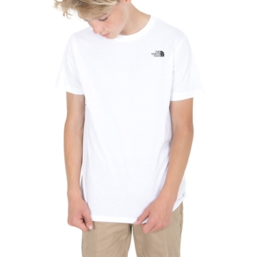 The North Face T-shirt Simple Dome white