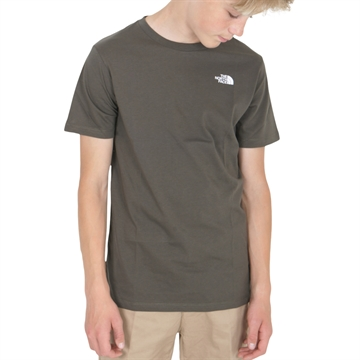 The North Face Simple Dome Tee New Taupe