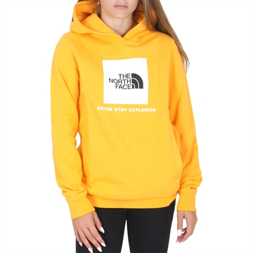 The North Face New Box Crew Hoodie Summit Gold