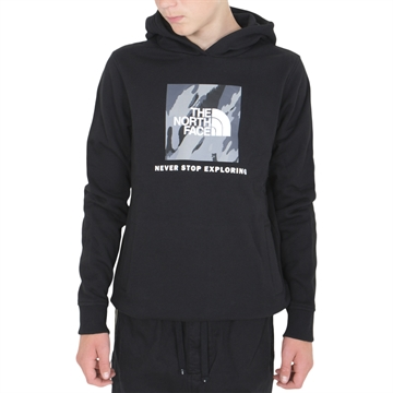 The North Face New Box Crew Hoodie Black