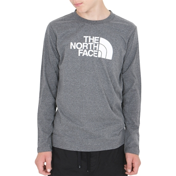 The North Face T-shirt l/s Easy Medium Grey