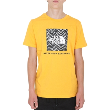 The North Face Box s/s Tee Summit Gold