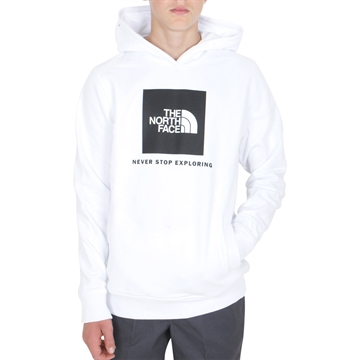 The North Face New Box Crew Hoodie White