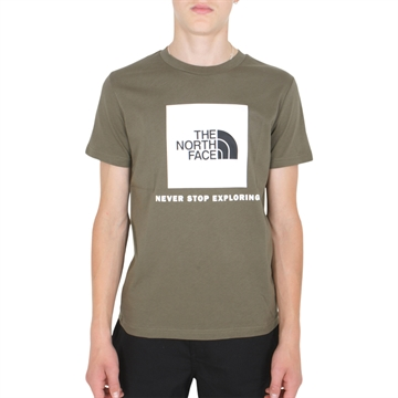 The North Face Box s/s Tee New Taupe Green