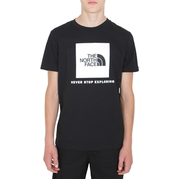 The North Face Box s/s Tee Black/White
