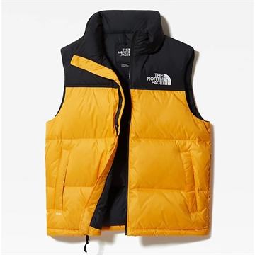 The North Face Retro Nuptse Vest Summit Gold