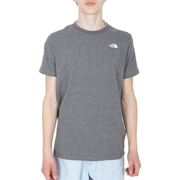 The North Face T-shirt Simple Dome Dark grey Melange