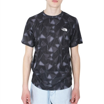 The North Face T-shirt s/s React Black AOP