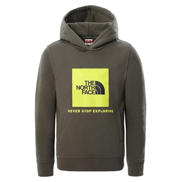 The North Face Sweat Hoodie Box New Taupe Green-Multi-Color