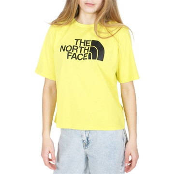 The North Face T-shirt Crppoed Easy sulphur