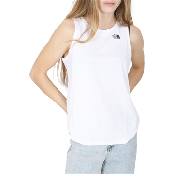 The North Face Tank Top Simple Dome White