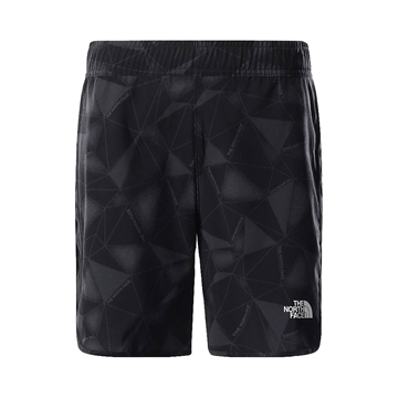 The North Face Shorts Running Tech Grey Scale Climb Print