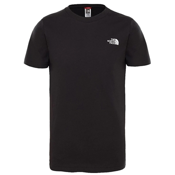 The North Face T-shirt Simple Dome Black