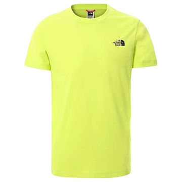 The North Face T-shirt Simple Dome SULPHUR SPRING GREEN