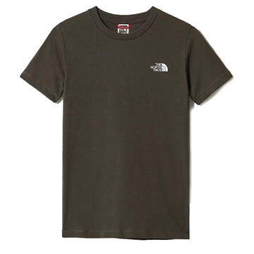 The North Face T-shirt Simple Dome NEW TAUPE GREEN