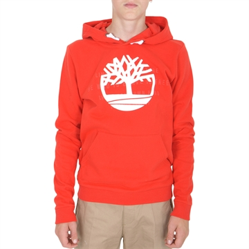 Timberland HOODED SWEATSHIRT T25R40 Bright Red
