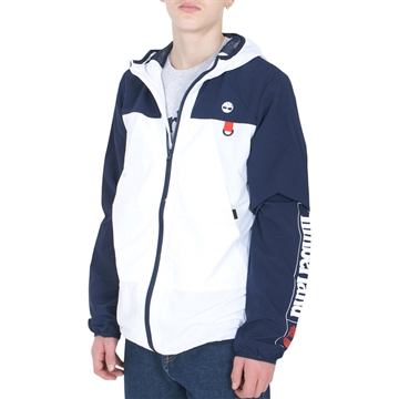Timberland Jacket Hooded T26537 Navy White