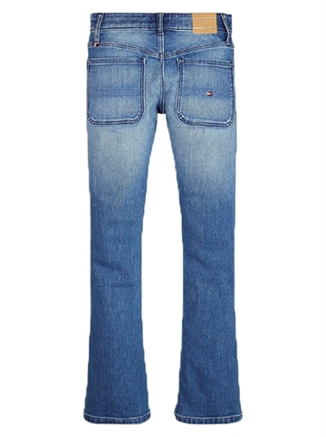 Tommy Hilfiger Girls Skinny Flare Jeans Lake Blue