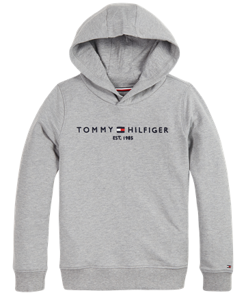 Tommy Hilfiger Hoodie Essential 05796 Grey Heather