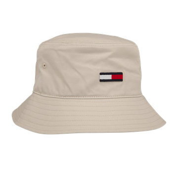 Tommy Hilfiger Bucket Hat Flag Smooth Stone 06422