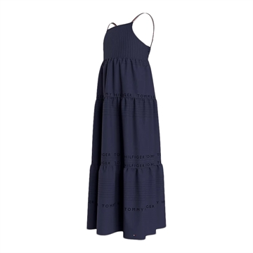 Tommy Hilfiger Girls Maxi Dress 05823 Twilight Navy