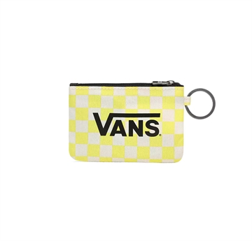 Vans WM Wallet Key Chail Lemon Tonic Check