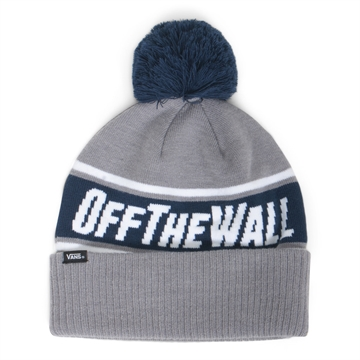 Vans Beanie Off The Wall Pom Grey