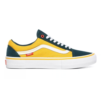 Vans sko OLD SKOOL PRO Atlantic/Gold