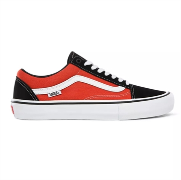 Vans sko OLD SKOOL PRO Black/Orange