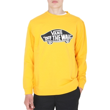 Vans Sweatshirt Off The Wall Yellow