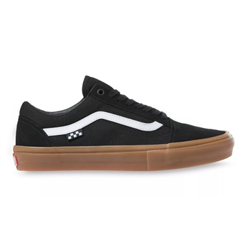 Vans Skate Sko Old Skool Black / Gum