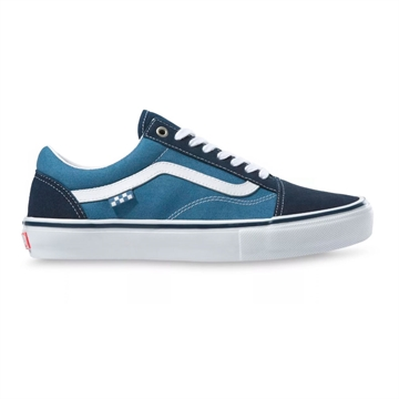 Vans Skate Sko Old Skool Navy / White