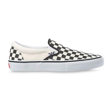 Vans Skate Slip On Black / White Checkerboard
