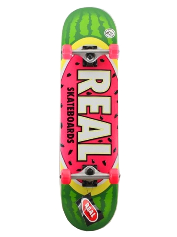 Real Complete Skateboard 8,0 Watermelon